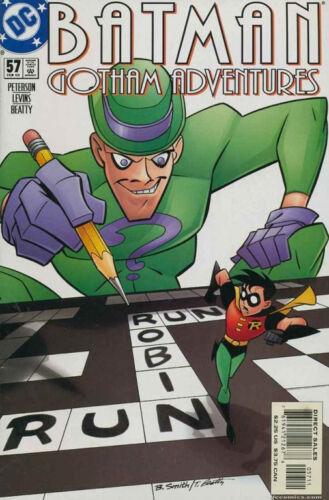 NEAR MINT BATMAN GOTHAM ADVENTURES #57 VERY FINE 1998 SERIES RIDDLER