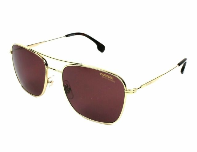 aa4f58581a Sunglasses Carrera 130  s 006j Gold Havana   W6 Burgundy Polarized Lens for  sale online