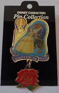 Japon-Disney-100-Anos-de-Magia-la-Bella-y-la-Bestia-Belle-Danza-con-Bestia-Pin