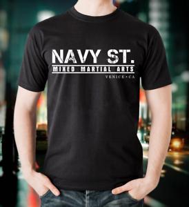 Navy St T-Shirt Black Kingdom MMA Mixed Martial Arts Gym TV Street Peter Series