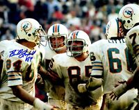 Signed 8x10 BILL STANFILL  Miami Dolphins  Autographed photo - w/COA