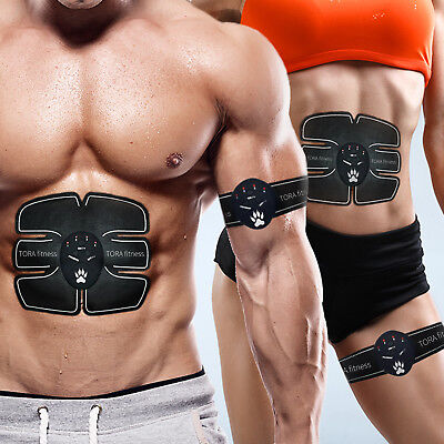 Bescheiden Ultimate Abs Slim Stimulator Abdominal Muscle Training Toning Belt Waist Trimmer Angenehm Zu Schmecken