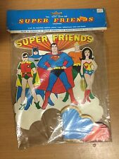 "SUPER FRIENDS 12"" CENTERPIECE MIP 1976"