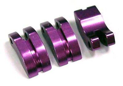 Yr-hpi Savage-Rc Escala 1/8 Nitro Engine - 3 Purple aleación de Zapatos de embrague