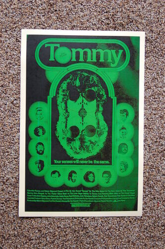Tommy #2 Lobby Card Movie Poster The Who