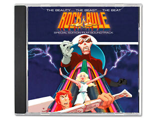 ROCK and RULE (1983) CD Special Edition Film Soundtrack 80's NEwWaVE Power Pop