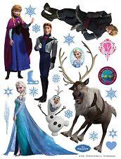 Wandsticker Wandtattoo Sticker Disney Frozen Eiskönigin Elsa 65x85cm | DK 1776