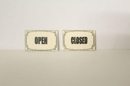 Maison de Poupées (ouvrir & fermer les signes