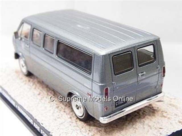 JAMES BOND FORD ECONOLINE VAN MODEL MODEL MODEL DIAMONDS ARE FOREVER 1 43 EXAMPLE T3412Z (=) 100ed3