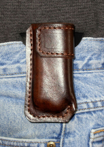 Single Stack Magazine Pouch LH Sendero Tactical Brown Model 1911 Paddle .45 Cal