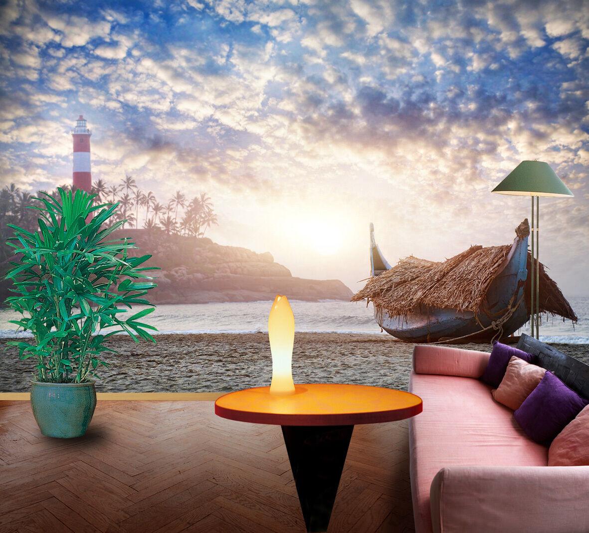 3D Asaka Navire 81 Photo Papier Peint en Autocollant Murale Plafond Chambre Art