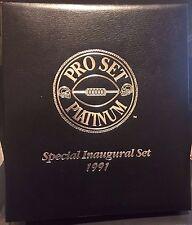 1991 Pro Set Platinum COMPLETE Special FACTORY Binder SET w/ PC Set FAVRE RC NEW