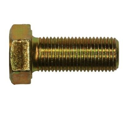 "Qty 50 3//8-24 x 2 1//4/"" Hex Bolt Zinc Plated Grade 8 Cap Screw Fine Thread"