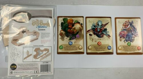 Big Book of Madness Lectern and Three Promo Cards Set New Out of Print Sealed