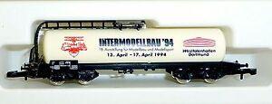 Intermodellbau 1994 Les Wagons-citernes Col  94702 Märklin 8626 Voie Z