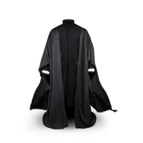 Severus Snape Professor Robe uniform cape Cosplay costume custom FF.1526