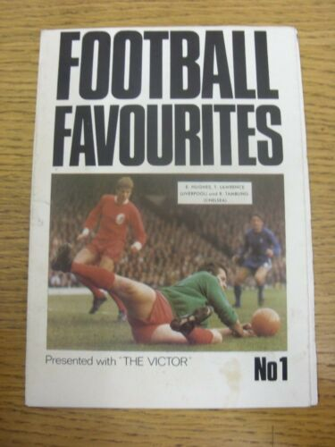 19691970 Football Favourites No.01 Presented With The Victor A Large Fold O