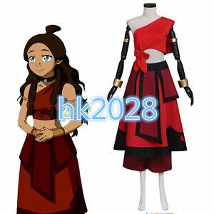 NEW Avatar The Last Airbender Katara Dress Adult Womens cosplay ... f18111a8e