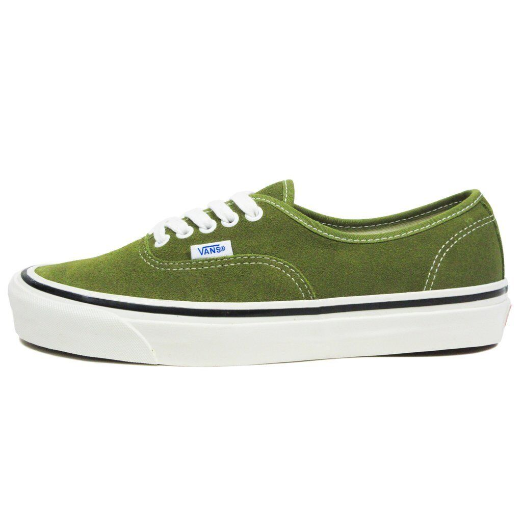 SALE VANS AUTHENTIC 44 DX ANAHEIM FACTORY SUEDE OLIVE Grün Weiß VN0A38ENQT0