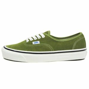 SALE VANS AUTHENTIC 44 DX ANAHEIM FACTORY SUEDE OLIVE GREEN WHITE ... 1b1b911ff