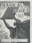 The Sealed Magical Book of Moses by William Alexander Oribello (Paperback, 1991)