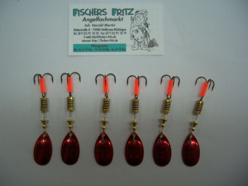 5 x MEPPS Aglia platinium rouge 1 gratuit taille 3 avec 6,5 G pour prix spécial 6 pièce