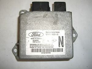 S L on 2005 Ford Five Hundred Ecm
