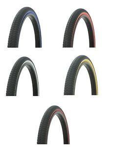 DURO 26 x 2.125 HEAVY DUTY VINTAGE CRUlSER BIKE BlCYCLE TlRE IN Black//Gum 270662