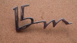 """Schriftzug, Emblem, Ford P4 Schriftzug """" 15 M """""""
