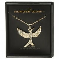 The Hunger Games: Mockingjay 14k Gold Plated Boxed Necklace By Bioworld