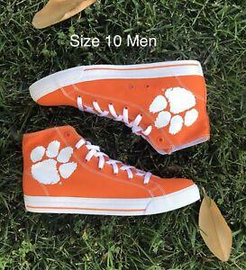 Row-One-Clemson-Tigers-Orange-Rival-Shoes-Sz-10-Men