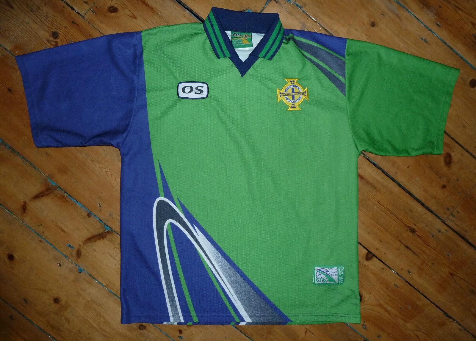 XL Irlea del Nord SHIRT SOCCER JERSEY AWAY Top 1998 Ulster Rangers nornirn