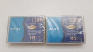 Brand-new-Sony2x-Data-Cartridges-DGD120P-premium-120P