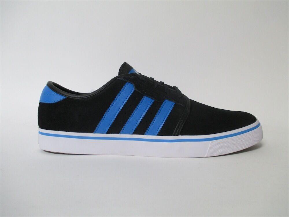 Adidias Seeley Black Soft Blue White Sz 12 C75708