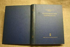 Fachbuch-Bauelemente-Feinmechanik-Uhrentechnik-Fototechnik-Praezisionstechnik