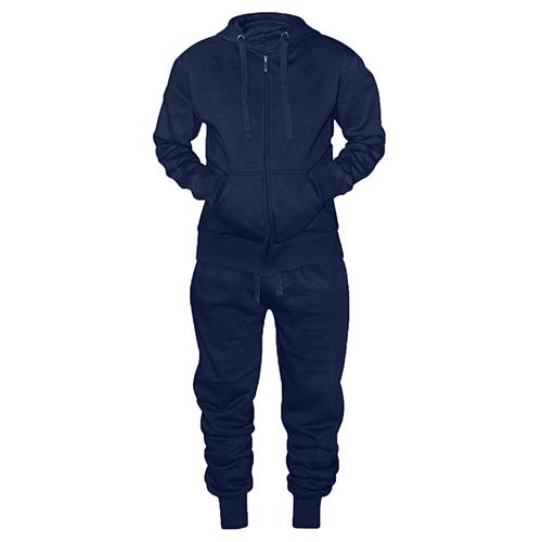 16 Soixante Hommes Bleu Marine Uni Décontracté Survêtement Jogging Costume S-2xl 1660