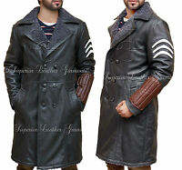 Suicide Squad Jai Courtney Captain Boomerang Genuine Leather Coat