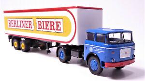 H0-LIAZ-skoda-706-remolcarse-hummer-maleta-construccion-Berliner-cervezas-VEB-71817