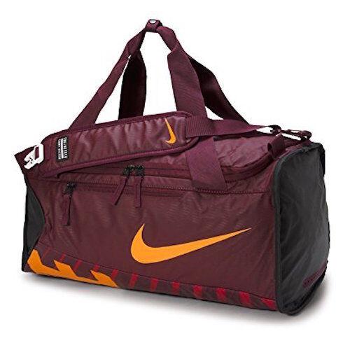 Nike Alpha ADAPT Crossbody Duffel Bag Maroon Orange Black Ba5183 681