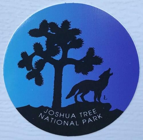 "Joshua Tree National Park 3/"" Multicolor Sticker Decal JTNP NPS Dusk Moonlight"
