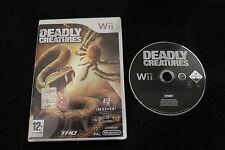 WII : DEADLY CREATURES - ITA ! Cacciatore o preda? Compatibile Wii U