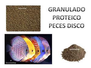 GRANULADO 1,5mm granulo para PECES DISCO alto en proteinas COMIDA DISCUS engorde