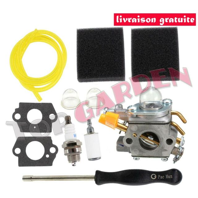 Carburateur 308554003 pour Ryobi Homelite 26cc 30cc Taille-haie Zama C1U-H60