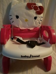 Baby Trend Hello Kitty Portable High Chair Toddler Booster