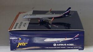 Zwillinge-Jets-GJAFL1497-Airbus-A321-211-Wl-Aeroflot-Vp-Baf-IN-1-400-Massstab