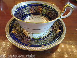 Aynsley-England-fine-china-tea-cup-saucer-blue-and-gold-4A
