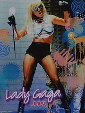 LADY GAGA - A4 Poster (ca. 20 x 27 cm) - Fan Sammlung Clippings Ausland USA