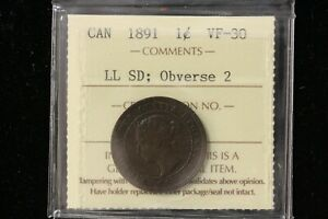 1891-Canada-One-Cent-034-LLSD-Obv2-034-ICCS-Graded-VF-30-XUV965
