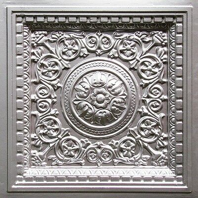 Faux Tin Decorative Ceiling Tile, Wall Decor, Photo or Event Backdrop #VC-2
