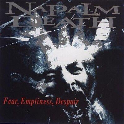 NAPALM DEATH FEAR EMPTINESS DESPAIR SEALED CD NEW